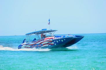screaming eagle dolphin boat cruise in destin florida